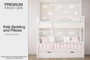 Kids Bedding & Pillows Set