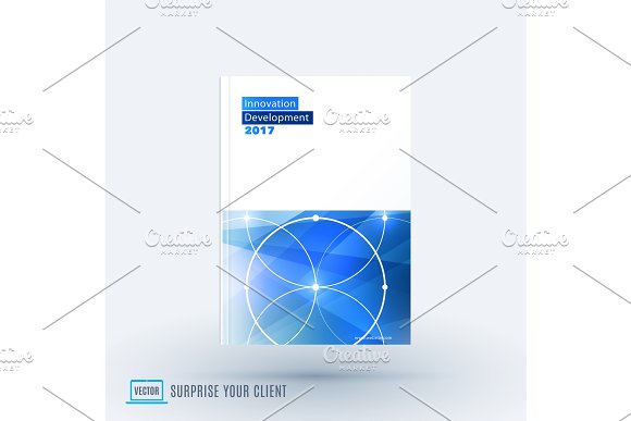 Abstract design of business vector template in Illustrations