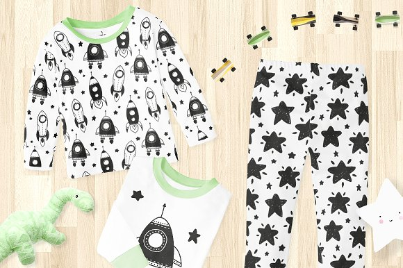 51 kids patterns, for boys & girls! in Patterns - product preview 7