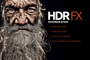 HDR FX Photoshop Action