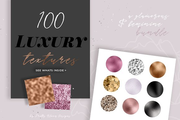 The Luxury Glam Texture Bundle