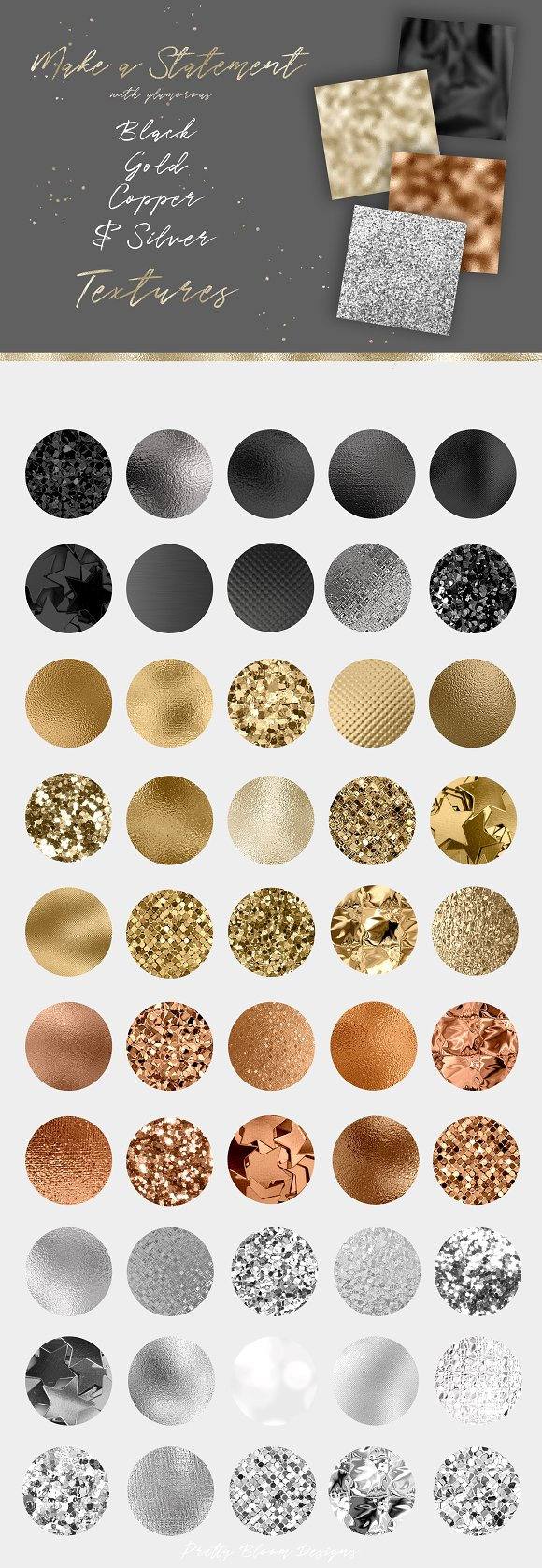 The Luxury Glam Texture Bundle in Textures - product preview 2