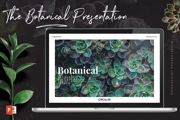 BOTANICAL / Presentation Te-Graphicriver中文最全的素材分享平台