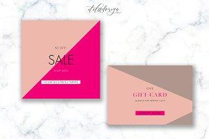 Modern Sale + Gift Card