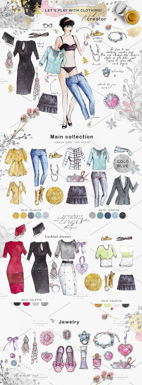 Fashion clothing creator