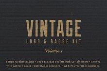 Vintage Logo/Badge Kit