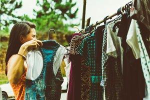 flea market fashion