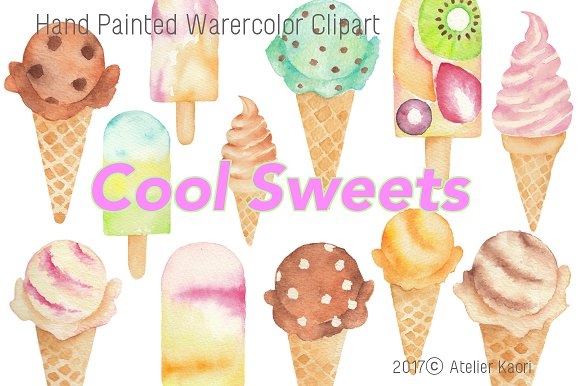 Cool Sweet / Ice Cream Clipart