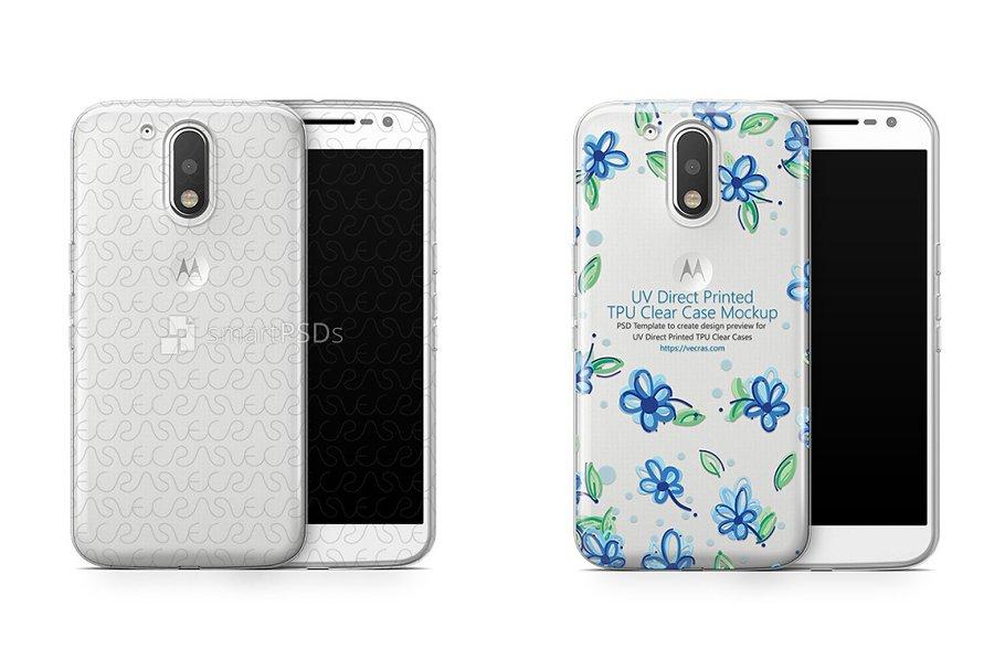 Motorola Moto G4 UV TPU Clear Case