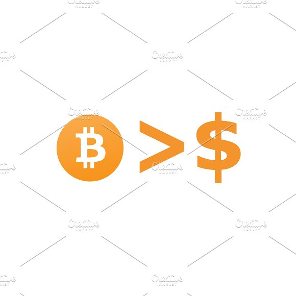 Bitcoin is more than Money Background