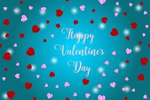 Happy Valentine's day illustration