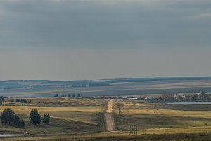 Steppes of the southern Urals