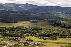 Steppes of the southern Urals. Bashkortostan