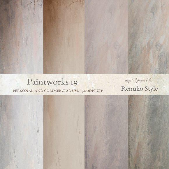 Paintworks 19 Photoshop Textures