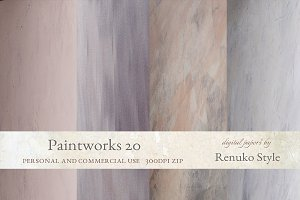 Paintworks 20 Photoshop Textures