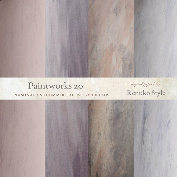 Paintworks 20 Photoshop Textures