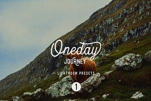 Oneday : Journey 1 Lightroom presets
