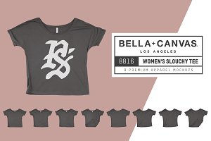 Bella Canvas 8816 Women's Slouchy T