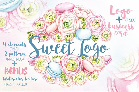 SWEET WATERCOLOR LOGO