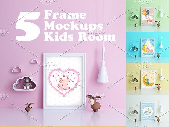 Kids Room Frame Mockups