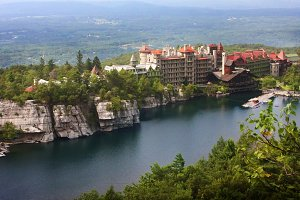 Collection: Mohonk Castle and Lake