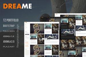 Dreame - Responsive Joomla Template