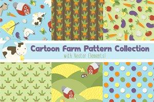 Cartoon Farm Print Pack