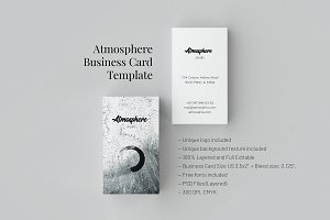Atmosphere. Business Card Tpl.