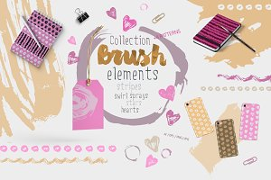 Brush Elements and patterns