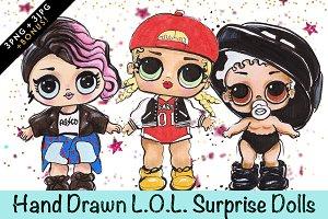 L.O.L. Surprise Dolls - Swag Squad