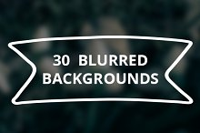 30 Blurred Backgrounds