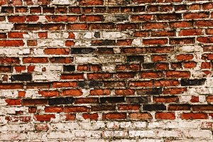 an old wall made of bricks. Brick wall. background and texture. building and house