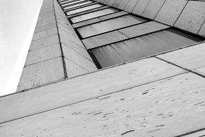 Black and White Skyscraper in NOLA