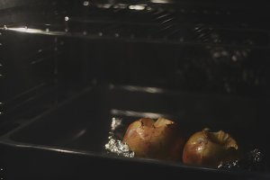 apples baked in the oven