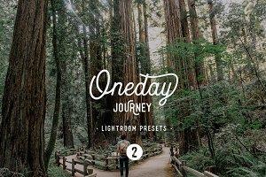 Oneday : Journey 2 Lightroom presets