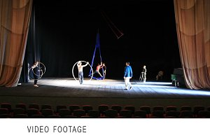 Actors onstage.