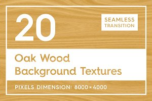 20 Oak Wood Background Textures