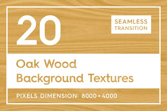 20 Oak Wood Background Textures