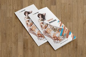 Trifold Fashion Brochure V773