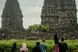 Vacation to Prambanan Temple