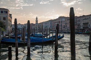 Grand Canal in the morning , Venice