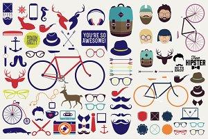 Hipster design elements