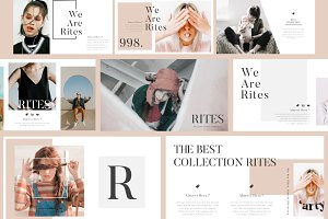 RITES Creative Presentation Template