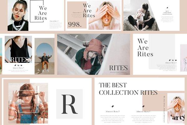 RITES Creative Presentation Templat…