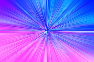 Pink and blue space teleportation blast illustration background