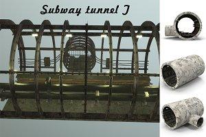 Subway tunnel T