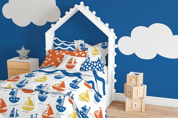 51 kids patterns, for boys & girls! in Patterns - product preview 6