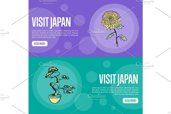 Visit Japan Travel Company Landing Page Template