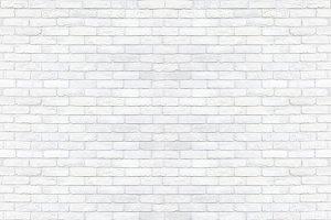 Clear white brick wall texture