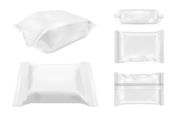 Foil food snack pack for snack